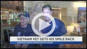 Hudson Valley Vet Gets Smile Back